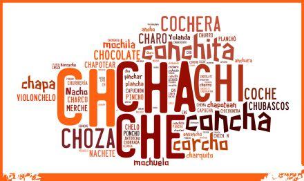 """""""cha, che, chi, cho, chu..."""".  Palabras con """"ch"""" o """"Ch"""""""