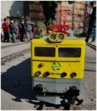 La máquina del Tren de Jardín.